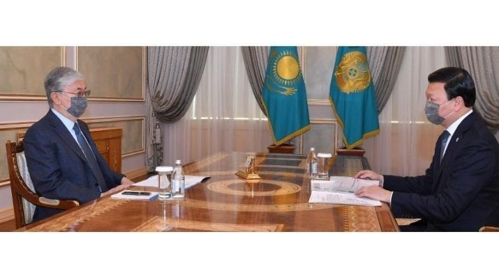 President received Health Minister